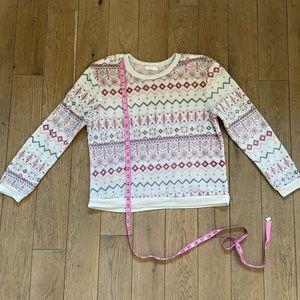 Plush Christmas sweater
